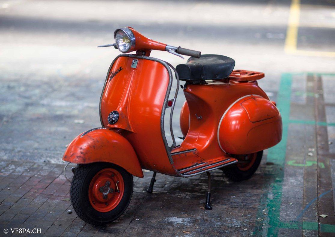Vespa ACMA Typ N, 1960, 9535 KM, O-Lack, www.VE8PA.CH-68