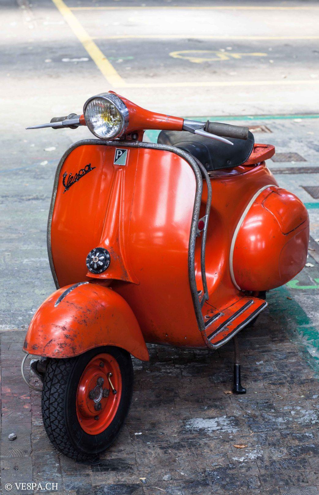 Vespa ACMA Typ N, 1960, 9535 KM, O-Lack, www.VE8PA.CH-69