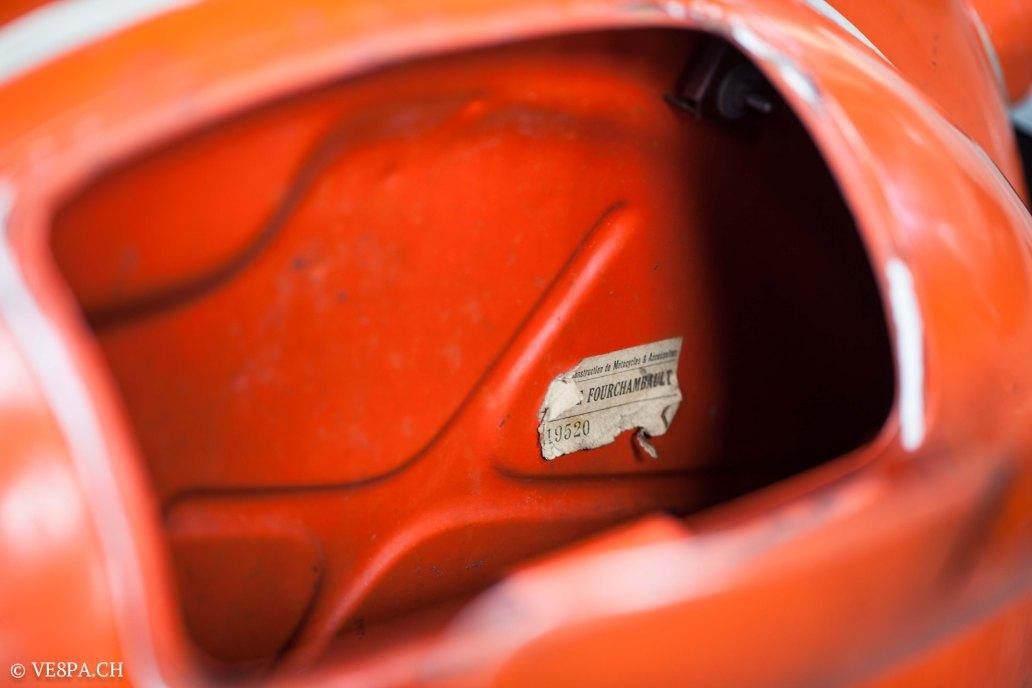 Vespa ACMA Typ N, 1960, 9535 KM, O-Lack, www.VE8PA.CH-72