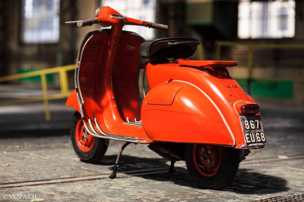 Vespa ACMA Typ N, 1960, 9535 KM, O-Lack, www.VE8PA.CH-8