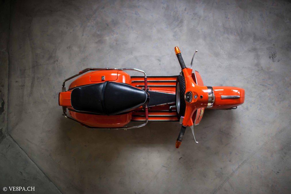 Vespa GTR 125, wie Vespa TS, Vespa Rally 180 200, Vespa SS 180, O-Lack, Conservata, Original - VE8PA.CH-23