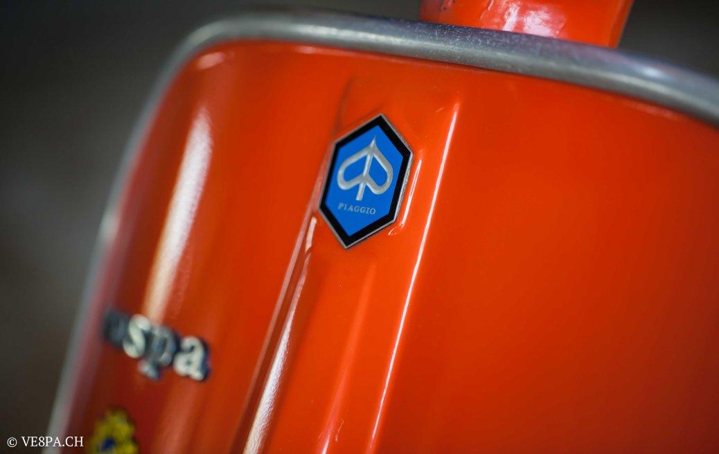 Vespa GTR 125, wie Vespa TS, Vespa Rally 180 200, Vespa SS 180, O-Lack, Conservata, Original - VE8PA.CH-45