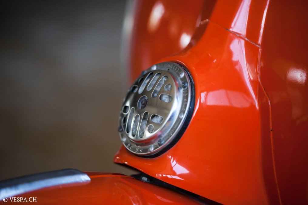 Vespa GTR 125, wie Vespa TS, Vespa Rally 180 200, Vespa SS 180, O-Lack, Conservata, Original - VE8PA.CH-46