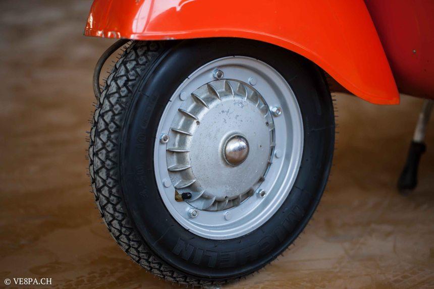 Vespa GTR 125, wie Vespa TS, Vespa Rally 180 200, Vespa SS 180, O-Lack, Conservata, Original - VE8PA.CH-48