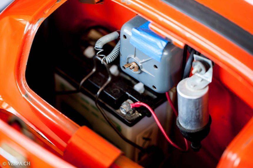 Vespa GTR 125, wie Vespa TS, Vespa Rally 180 200, Vespa SS 180, O-Lack, Conservata, Original - VE8PA.CH-53