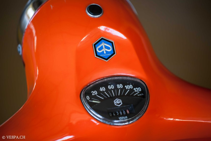 Vespa GTR 125, wie Vespa TS, Vespa Rally 180 200, Vespa SS 180, O-Lack, Conservata, Original - VE8PA.CH-58