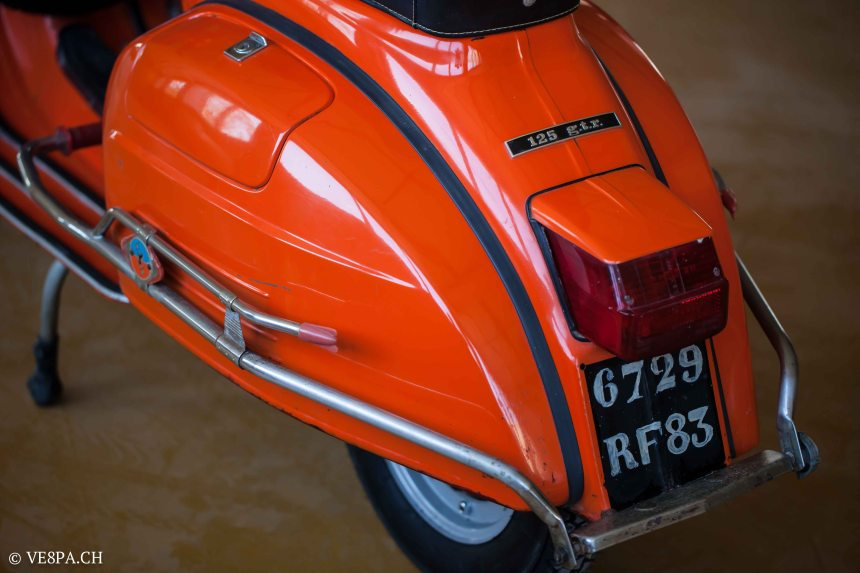 Vespa GTR 125, wie Vespa TS, Vespa Rally 180 200, Vespa SS 180, O-Lack, Conservata, Original - VE8PA.CH-61
