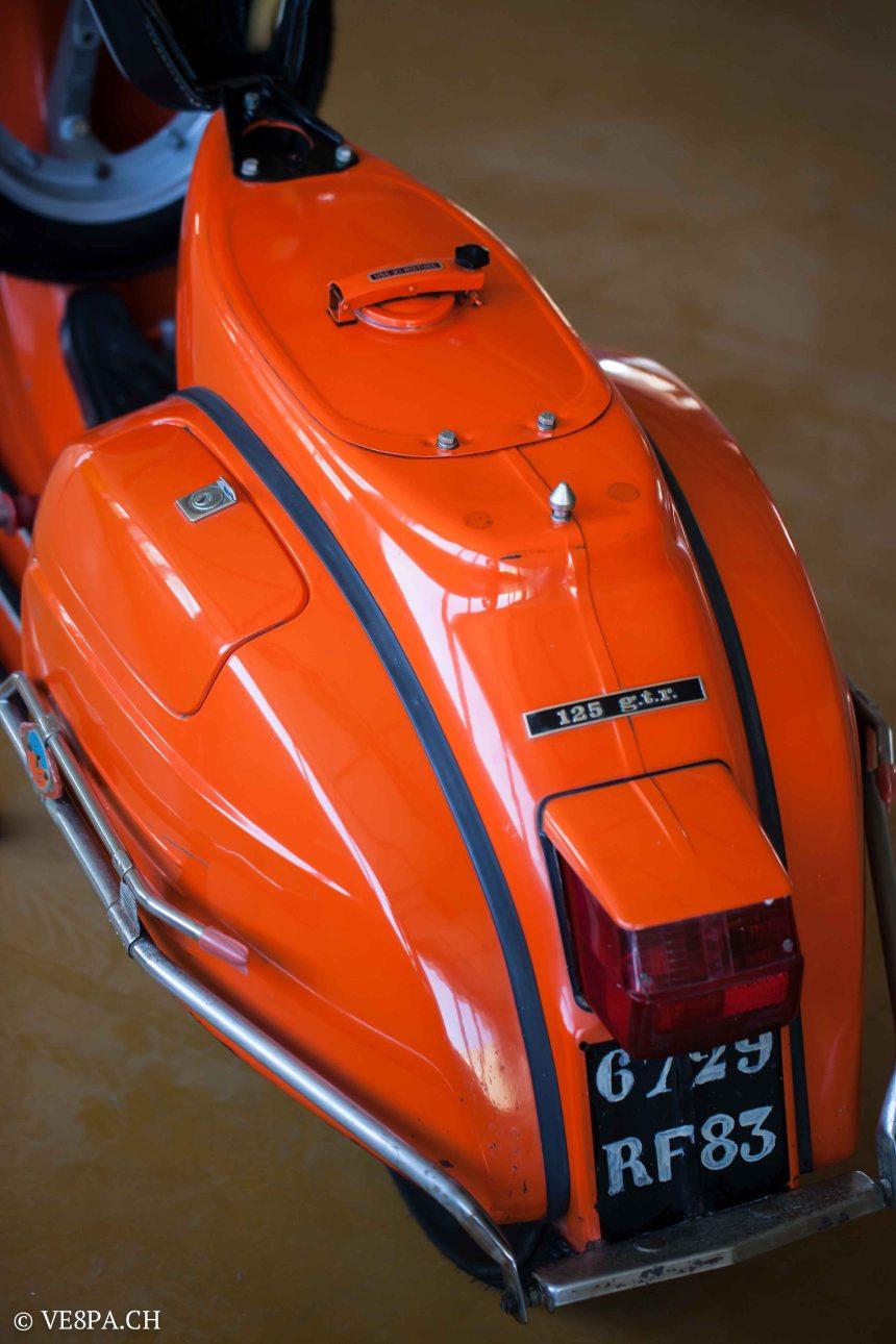 Vespa GTR 125, wie Vespa TS, Vespa Rally 180 200, Vespa SS 180, O-Lack, Conservata, Original - VE8PA.CH-66