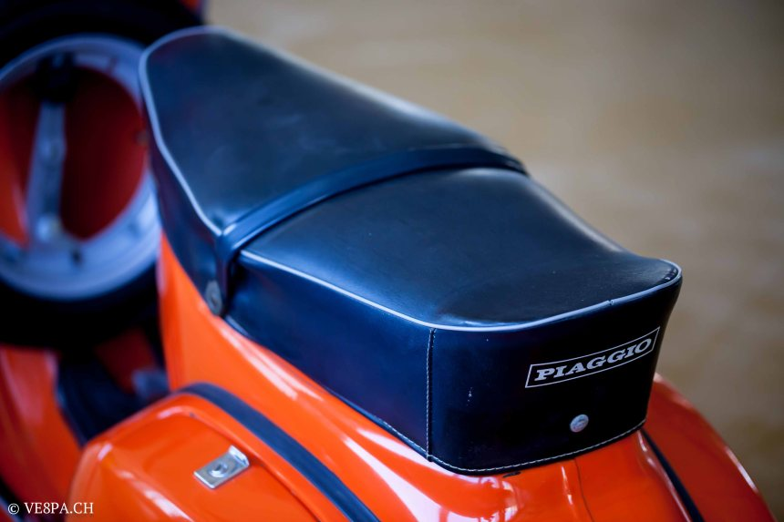 Vespa GTR 125, wie Vespa TS, Vespa Rally 180 200, Vespa SS 180, O-Lack, Conservata, Original - VE8PA.CH-69