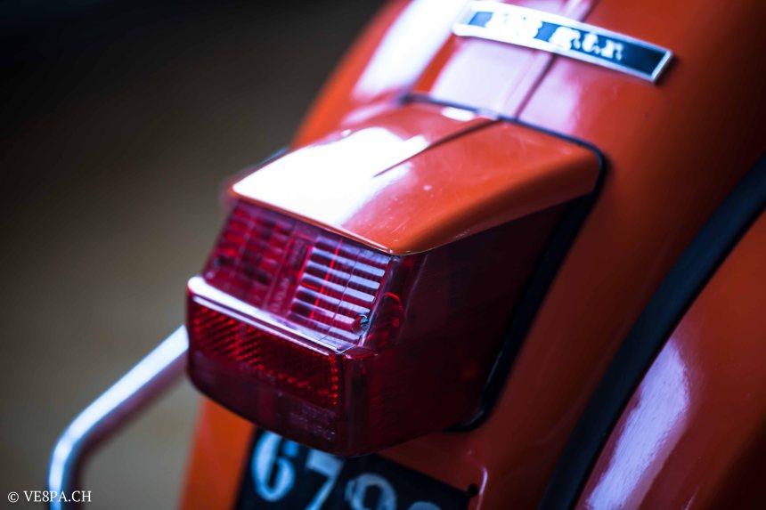 Vespa GTR 125, wie Vespa TS, Vespa Rally 180 200, Vespa SS 180, O-Lack, Conservata, Original - VE8PA.CH-74