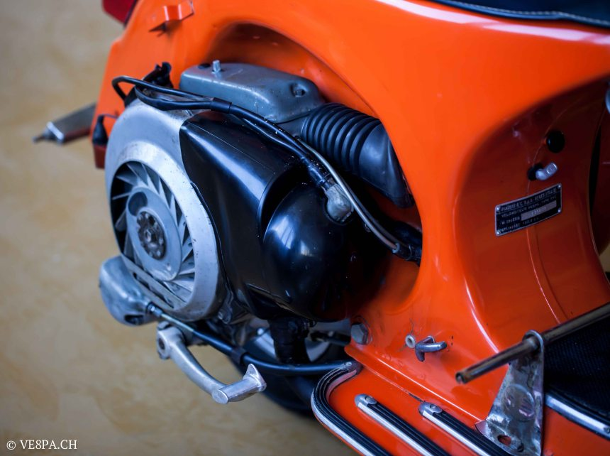 Vespa GTR 125, wie Vespa TS, Vespa Rally 180 200, Vespa SS 180, O-Lack, Conservata, Original - VE8PA.CH-75
