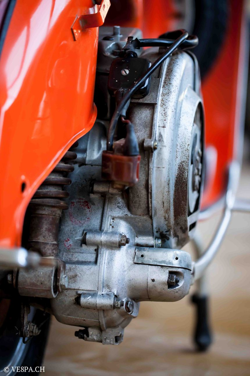 Vespa GTR 125, wie Vespa TS, Vespa Rally 180 200, Vespa SS 180, O-Lack, Conservata, Original - VE8PA.CH-77