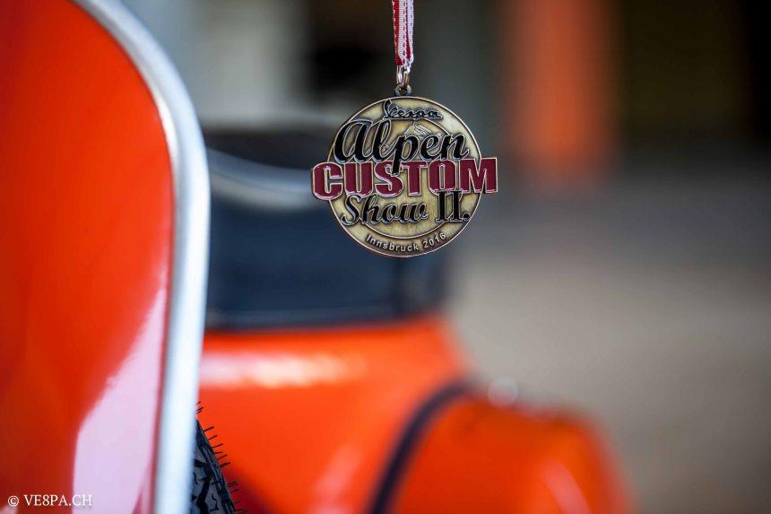 Vespa GTR 125, wie Vespa TS, Vespa Rally 180 200, Vespa SS 180, O-Lack, Conservata, Original - VE8PA.CH-92