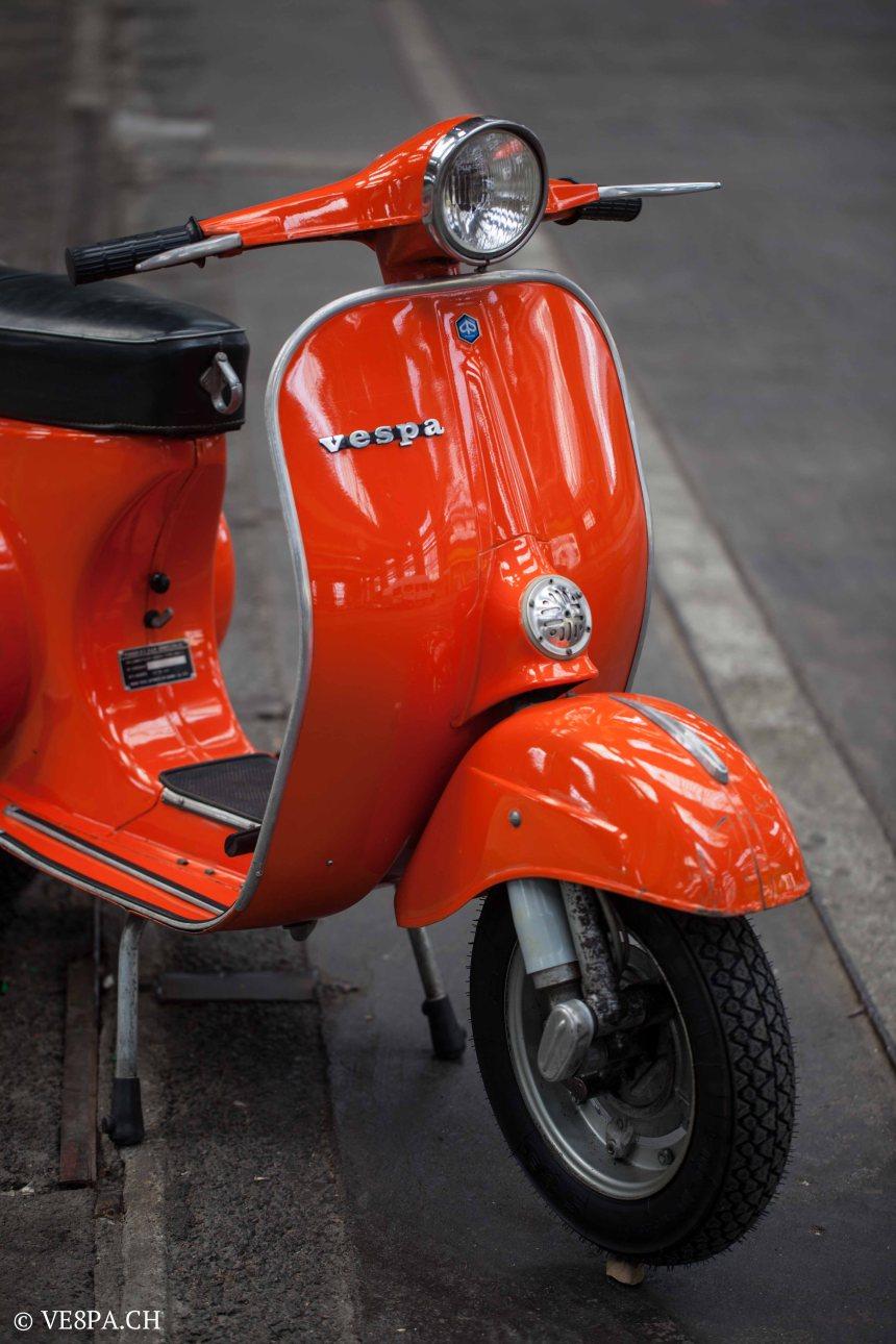 Vespa Primavera 1975, Orange, im O-Lack, Originallack, Vespa Smallframe wie Vespa 50SS, ET3, VE8PA.CH-27