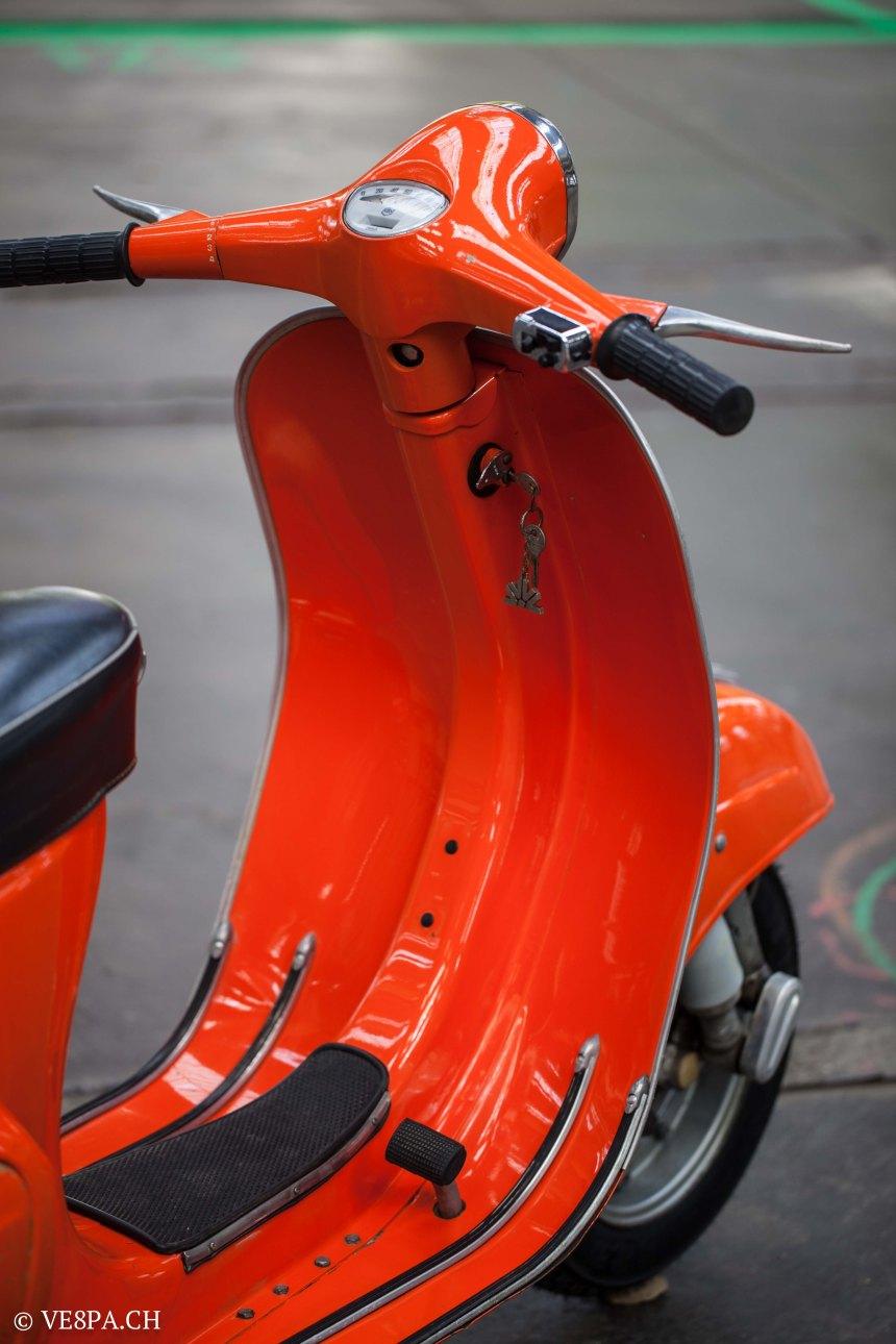 Vespa Primavera 1975, Orange, im O-Lack, Originallack, Vespa Smallframe wie Vespa 50SS, ET3, VE8PA.CH-30