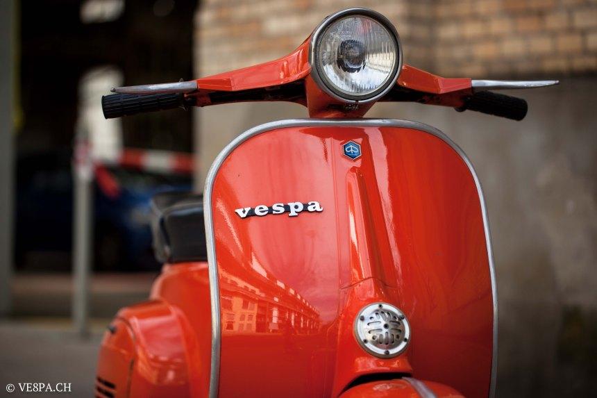 Vespa Primavera 1975, Orange, im O-Lack, Originallack, Vespa Smallframe wie Vespa 50SS, ET3, VE8PA.CH-39