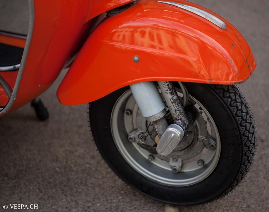 Vespa Primavera 1975, Orange, im O-Lack, Originallack, Vespa Smallframe wie Vespa 50SS, ET3, VE8PA.CH-40