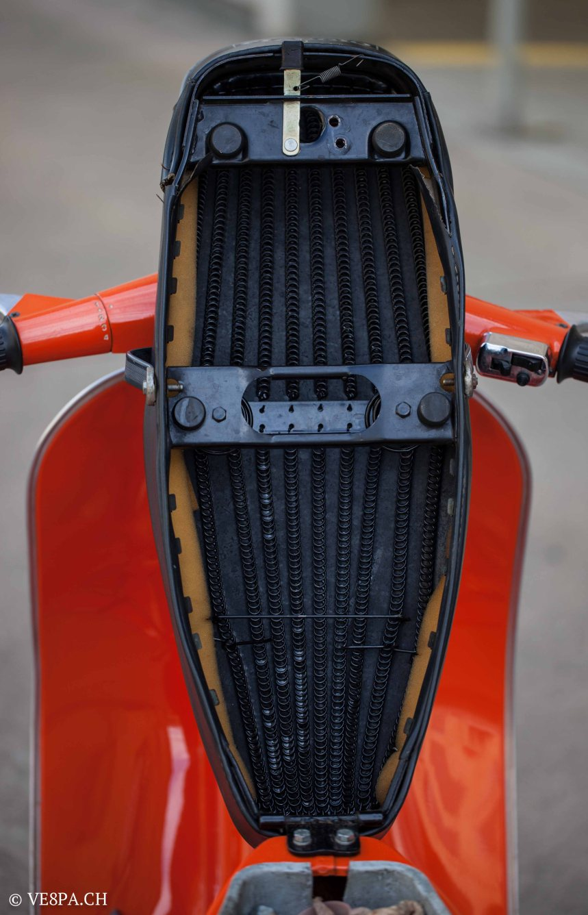 Vespa Primavera 1975, Orange, im O-Lack, Originallack, Vespa Smallframe wie Vespa 50SS, ET3, VE8PA.CH-51