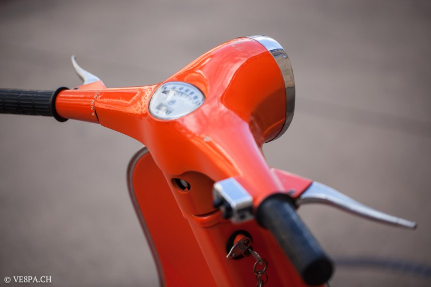 Vespa Primavera 1975, Orange, im O-Lack, Originallack, Vespa Smallframe wie Vespa 50SS, ET3, VE8PA.CH-56