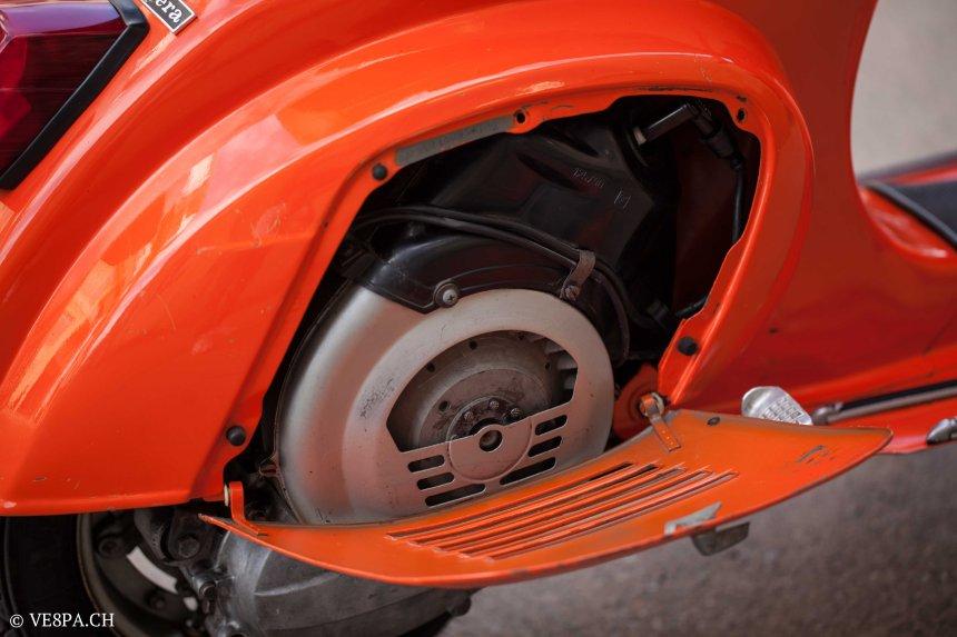 Vespa Primavera 1975, Orange, im O-Lack, Originallack, Vespa Smallframe wie Vespa 50SS, ET3, VE8PA.CH-57