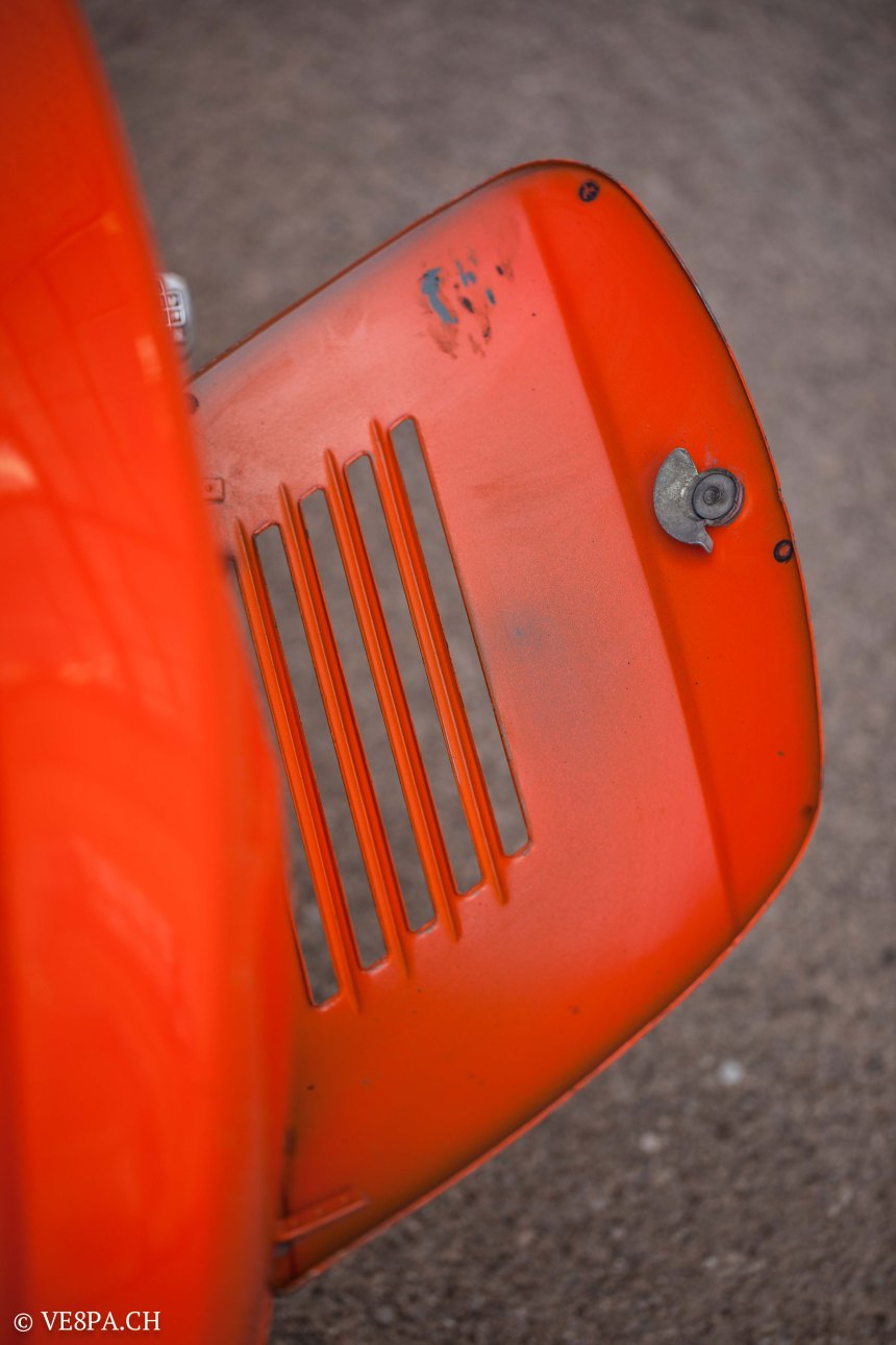 Vespa Primavera 1975, Orange, im O-Lack, Originallack, Vespa Smallframe wie Vespa 50SS, ET3, VE8PA.CH-59