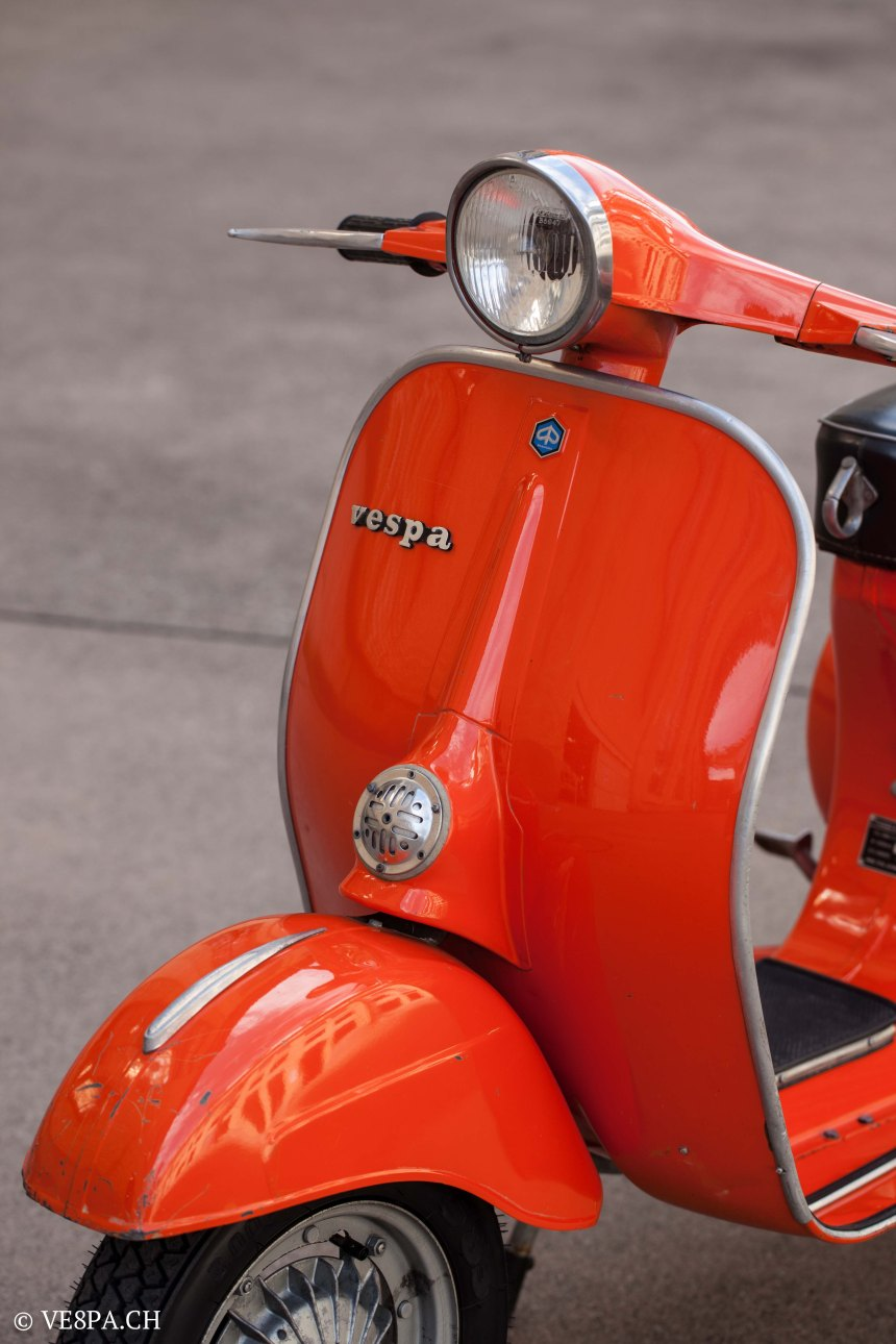 Vespa Primavera 1975, Orange, im O-Lack, Originallack, Vespa Smallframe wie Vespa 50SS, ET3, VE8PA.CH-72