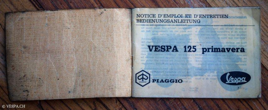 Vespa Primavera 1975, Orange, im O-Lack, Originallack, Vespa Smallframe wie Vespa 50SS, ET3, VE8PA.CH-80