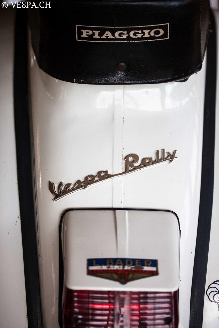 Vespa Rally 180 wie Vespa TS, Vespa GTR 125, wie Vespa TS, Vespa Rally 200, Vespa SS180, O-Lack, Original - VE8PA.CH-4