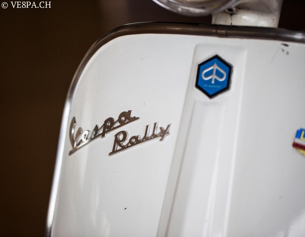 Vespa Rally 180 wie Vespa TS, Vespa GTR 125, wie Vespa TS, Vespa Rally 200, Vespa SS180, O-Lack, Original - VE8PA.CH-7